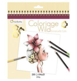 Lamarche Cahier de Coloriage Wild