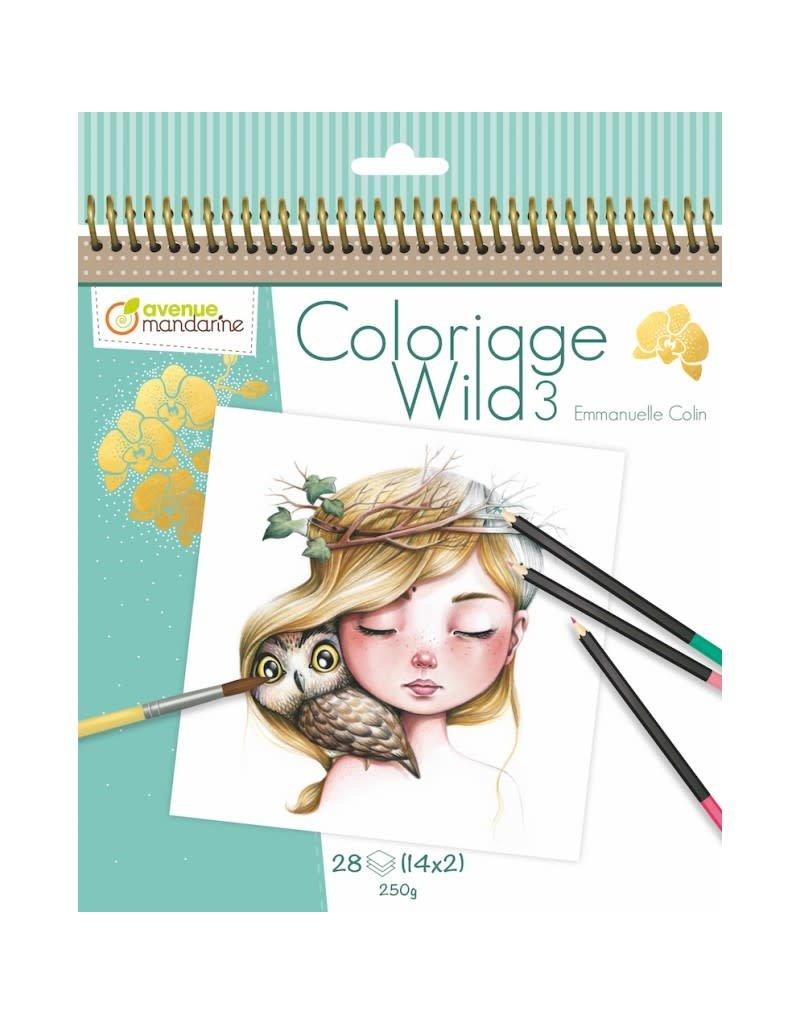 Lamarche Cahier de Coloriage Wild 3