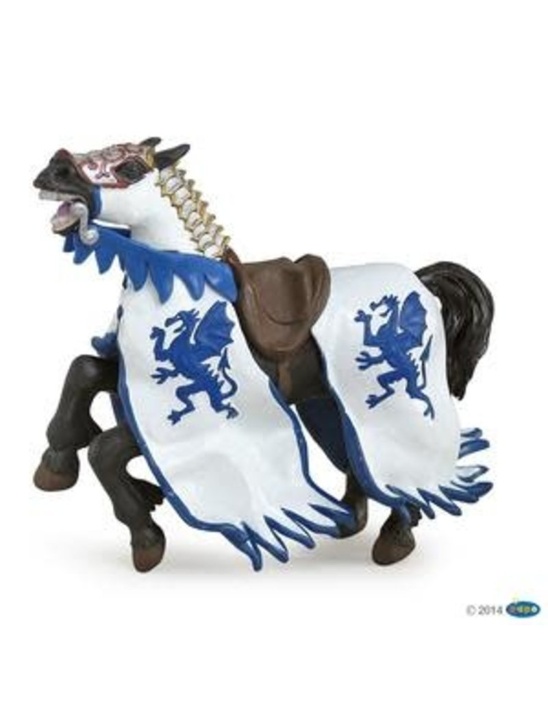 Papo Cheval au dragon bleu