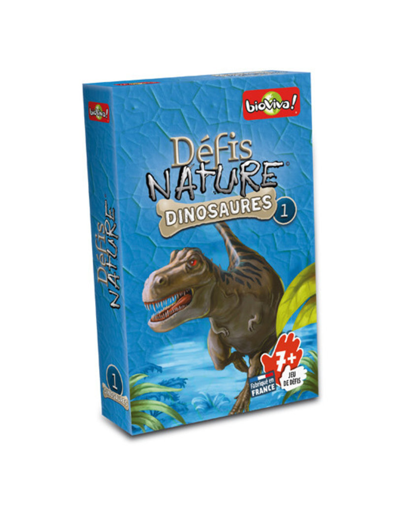 Bioviva Défis Nature / Dinosaures 1 (bleu)(FR)