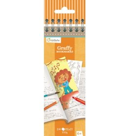 Lamarche Graffy Bookmark - Animaux Rigolos