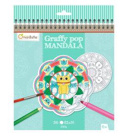 Lamarche Graffy Pop Mandala - Animaux
