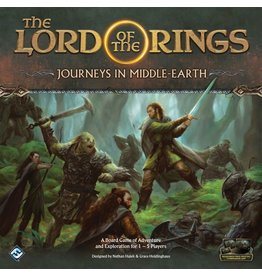 Fantasy Flight Games The Lord of the Rings - Journeys in Middle-earth (EN)