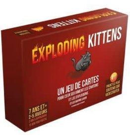 Exploding Kitttens Exploding Kittens (FR)