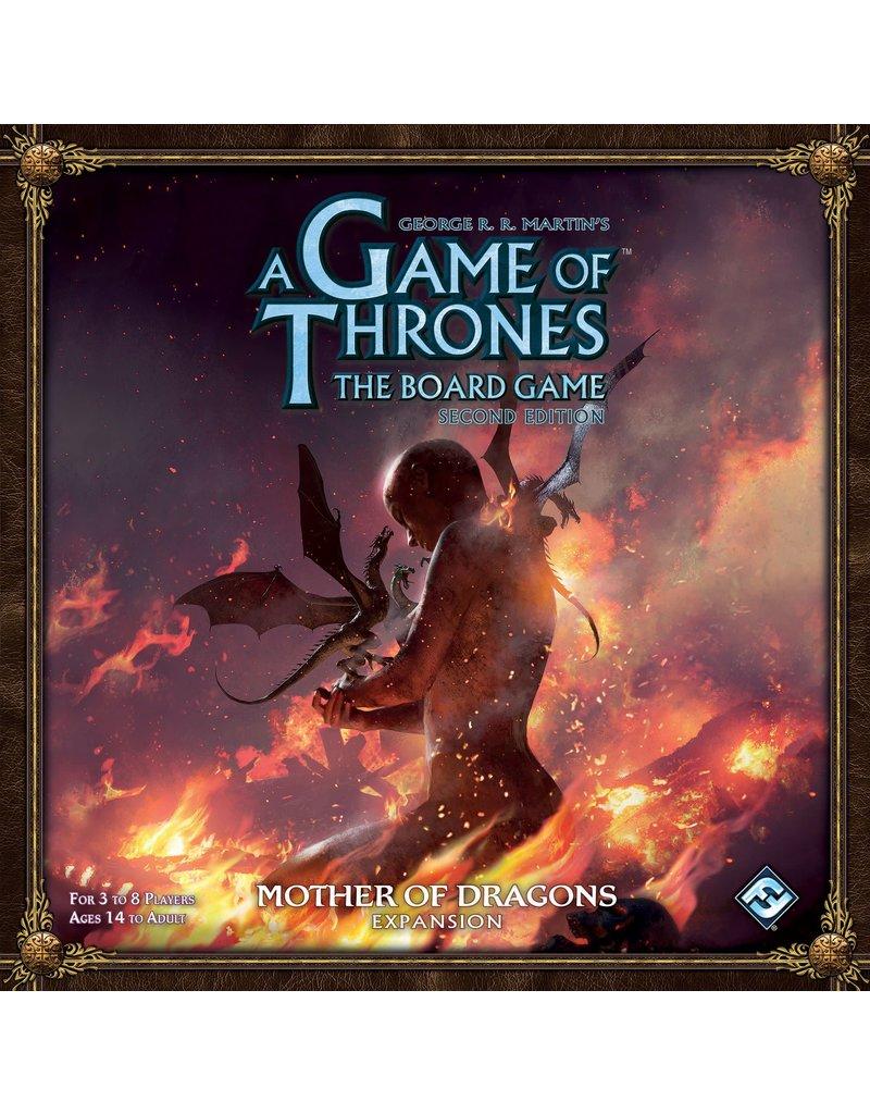 Fantasy Flight Games Game of Thrones 2nd Ed – Mother of Dragons (EN)
