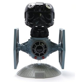 FUNKO POP STAR WARS THE FIGHTER PILOT with tie fighter