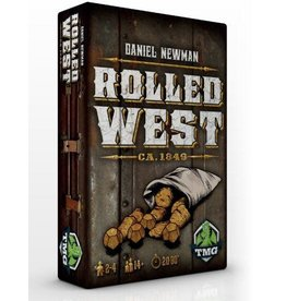 Tasty Minstrel Games (TMG) Rolled West (EN) PRÉCOMMANDE