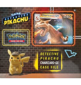 Wizards of the Coast Pokemon Detective Pikachu Charizard GX case