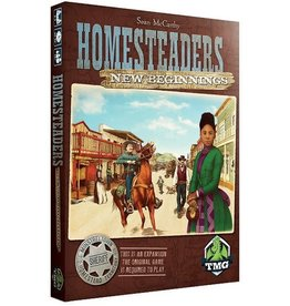 Tasty Minstrel Games (TMG) Homesteaders - New Beginnings (EN) PRÉCOM.