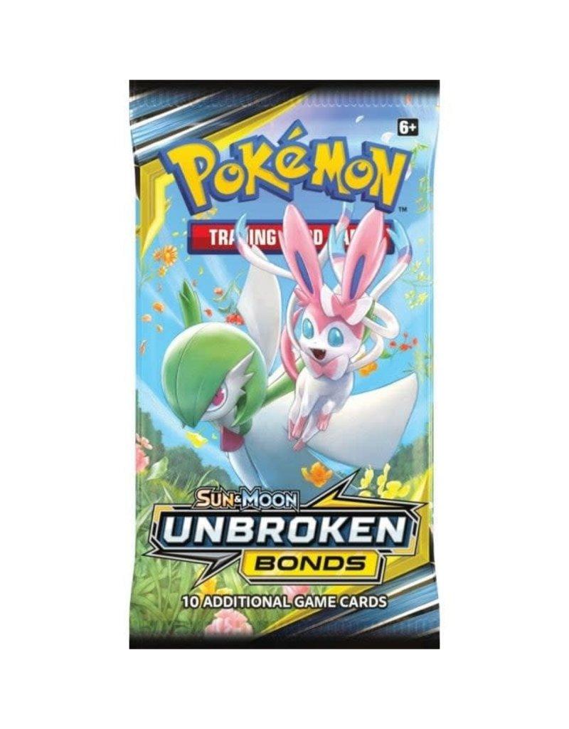 Wizards of the Coast Pokemon Unbroken Bonds booster (EN)