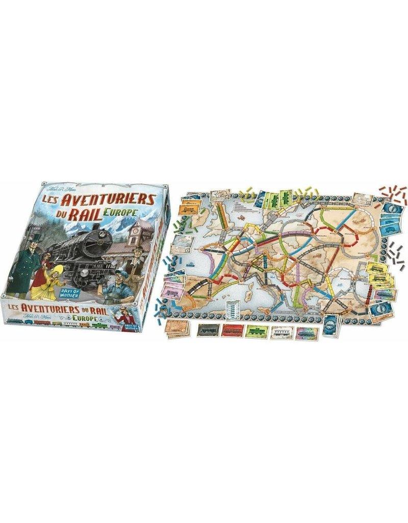 Days of Wonder Aventuriers du Rail Eu (FR) LOCATION 5-jours