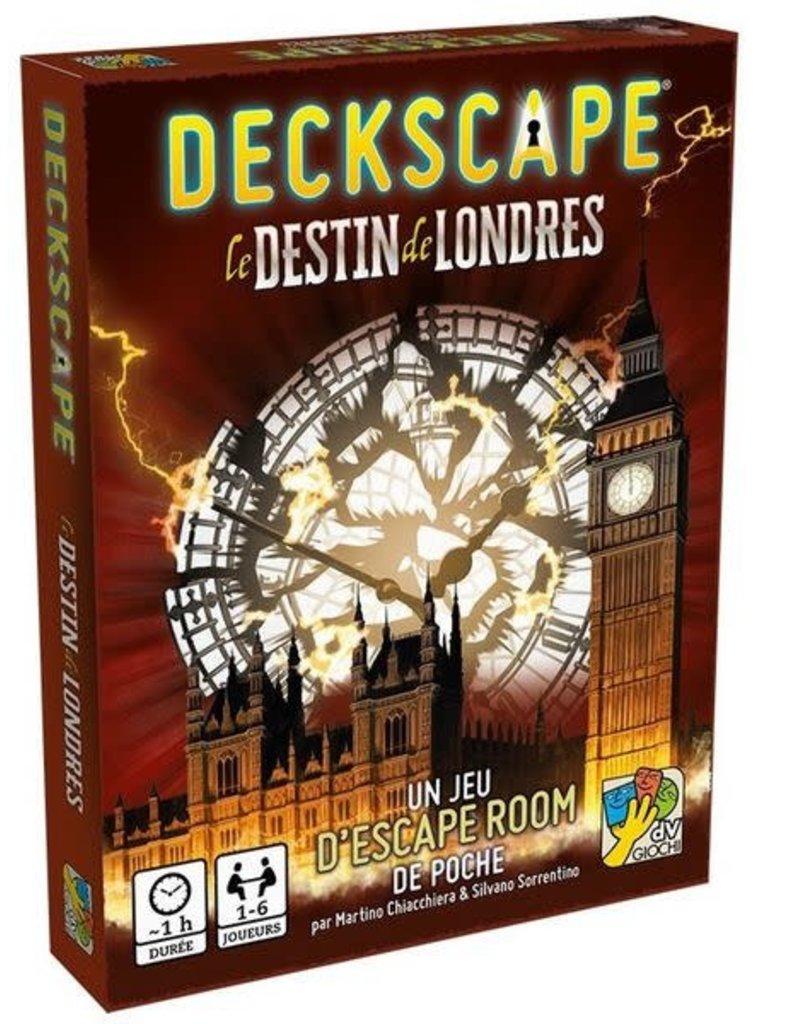 dV Giochi Deckscape - Londres (FR) LOCATION 5-jours