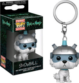 FUNKO POP! Keychain Rick and Morty - Snowball