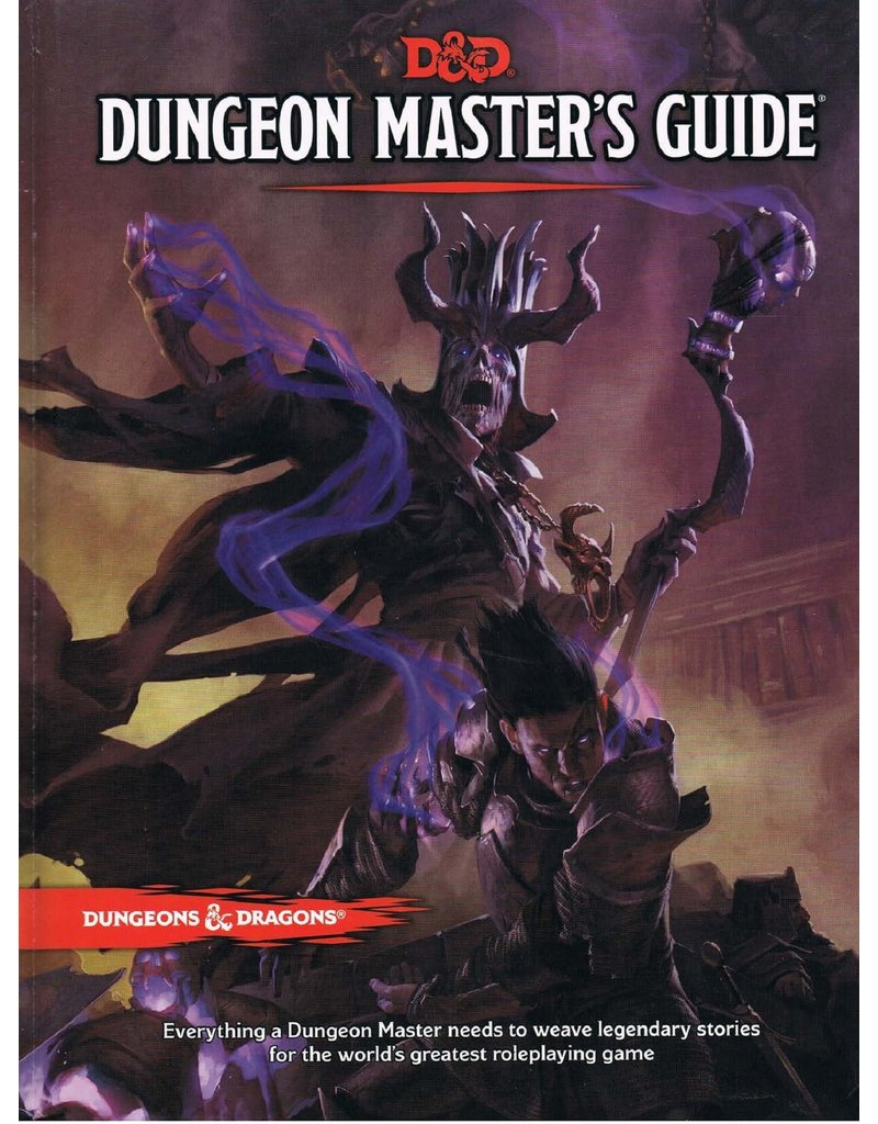 Wizards of the Coast D&D -  Dungeon Masters Guide (EN)