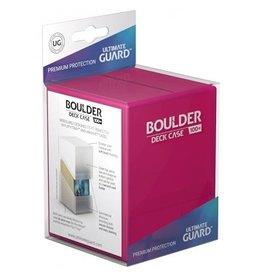 Ultimate Guard UG Deck Case Boulder Rhodonite Rose 80