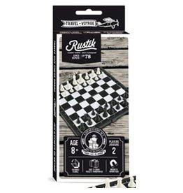 Rustik Jeu d'échecs magnétique