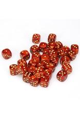 Chessex CHX27814 Dés 36 d6 12mm Scarab Scarlet