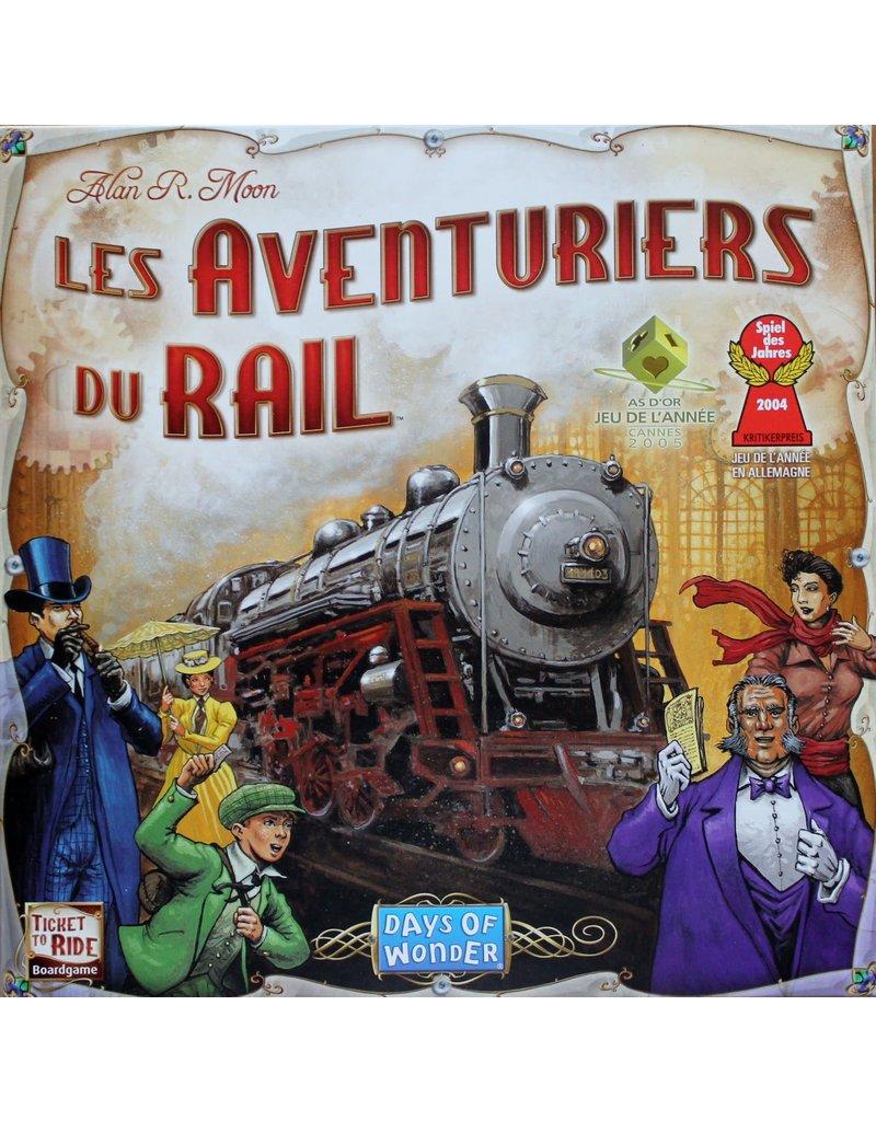 Days of Wonder Aventuriers du Rail (FR)