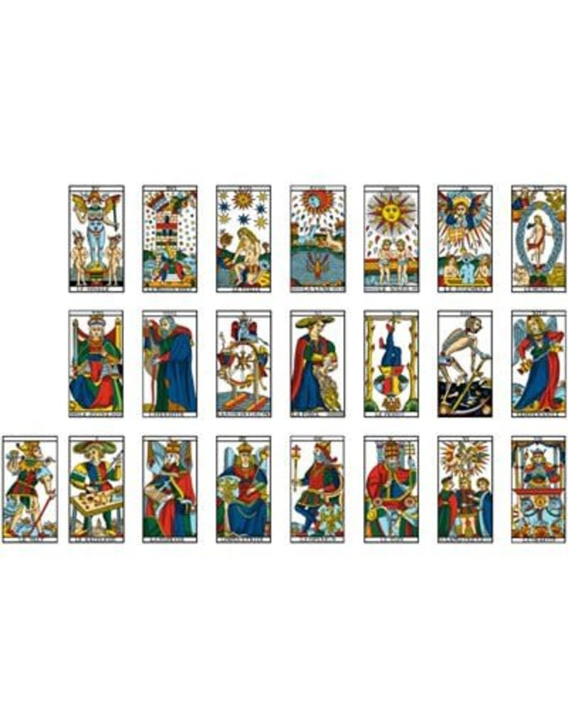 France Cartes Ancien Tarot de Marseille