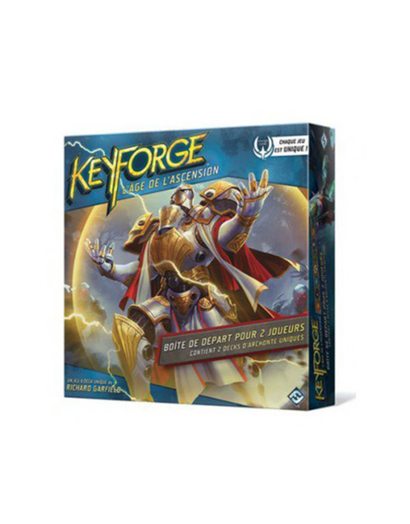 Fantasy Flight Games Keyforge: L'age de l'ascension Boîte départ (FR)