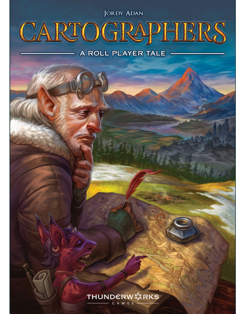 Thunderworks Games Cartographers: A Roll Player Tale (EN)