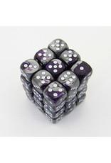 Chessex CHX26832 - 36 d6 12mm Gemini violet