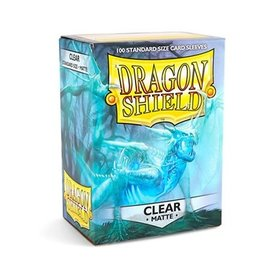 Dragon Shield Dragon Shield Sleeves Matte Clear 100 pack