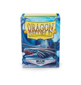 Dragon Shield Dragon Shield Sleeves Matte Blue 100 pack