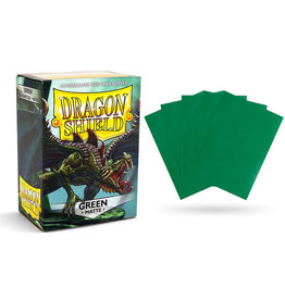 Dragon Shield Sleeves Matte Green 100 pack