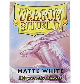 Mayday Games Dragon Shield Sleeves Matte White 100 pack