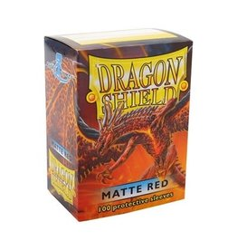 Dragon Shield Dragon Shield Sleeves Matte Red 100 pack