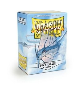 Dragon Shield Sleeves Matte Sky Blue 100 pack