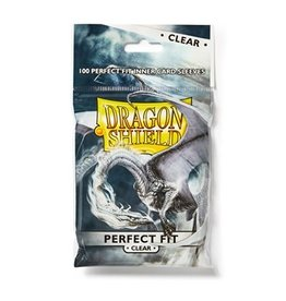 Dragon Shield Dragon Shield Sleeves Perfect Fit Clear 100 pack