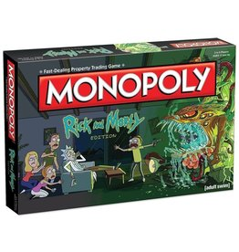 USAOPOLY Monopoly Rick and Morty (EN)