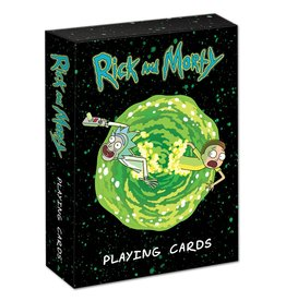 USAOPOLY Rick and Morty - Playing Cards (EN)