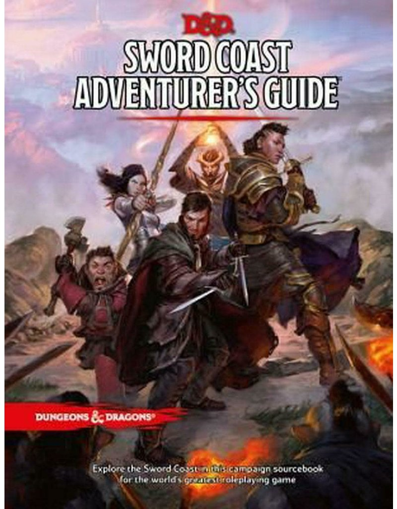 Wizards of the Coast DND RPG Sword Coast Adventurer's Guide