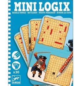 Djeco Mini logix - Bataille Navale