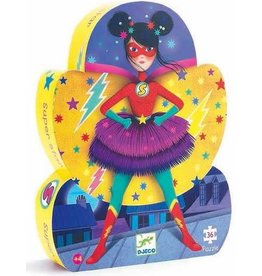 Djeco Puzzle silhouette - Super star - 36 pcs