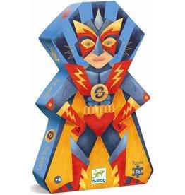 Djeco Puzzle silhouette - Laser boy - 36 pcs