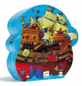 Djeco Puzzle silhouette - Bateau Barberousse - 54 pcs