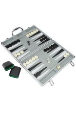 """Noèse Collection Backgammon 15"""" with aluminum case"""