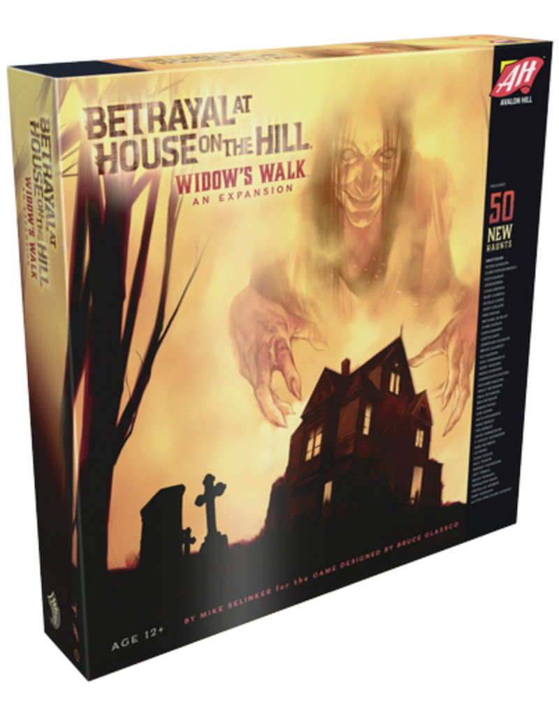 Avalon Hill Games Betrayal at House on the Hill - Widows Walk (EN)