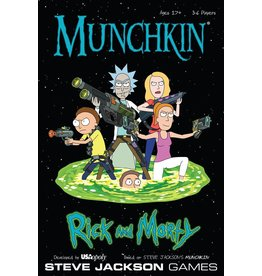 USAOPOLY Munchkin - Rick and Morty (EN)