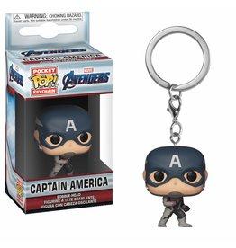 FUNKO POP! Keychain MVL Avengers Endgame - Cpt America
