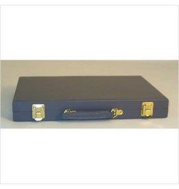 "Backgammon 15"" Grey Vinyl Case"