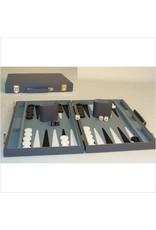 Backgammon 15'' Grey Vinyl Case