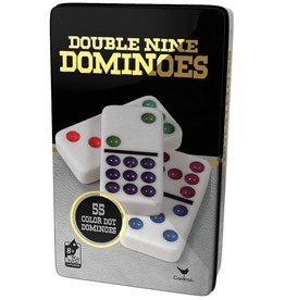 Cardinal games Domino couleur-Double 9