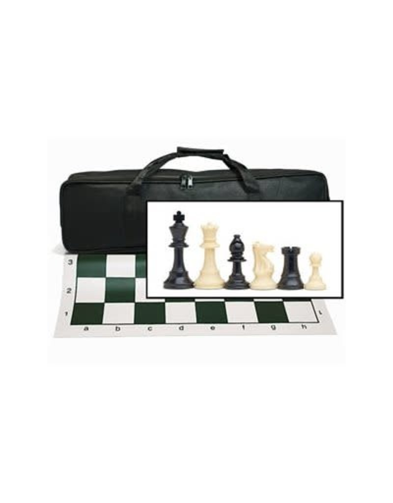 Wood Expressions Chess Tournament Set & Canvas Bag