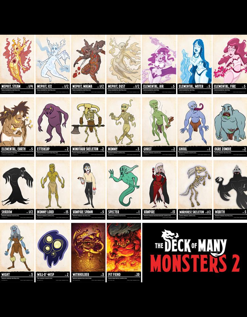 Deck of Many - Monsters 2 (EN)