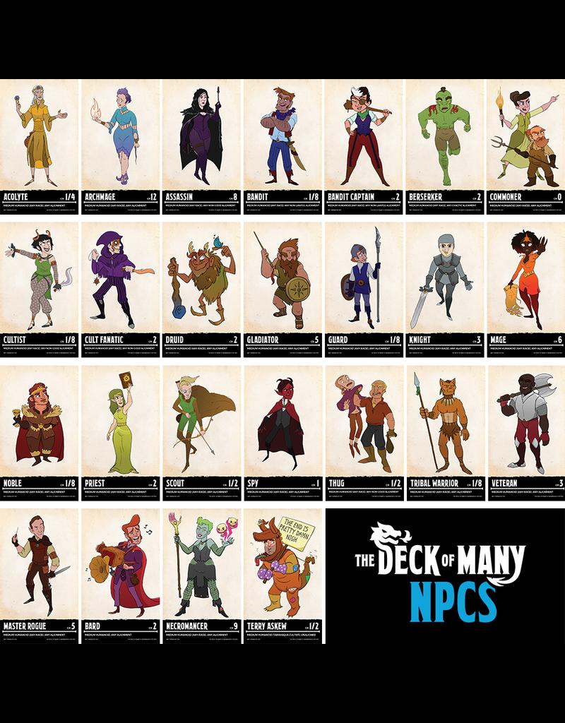 Deck of Many - NPCs
